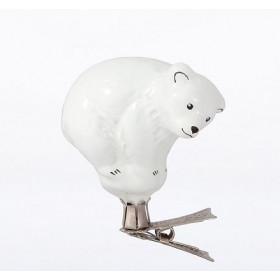 """Украшение """"Белый медведь"""""""