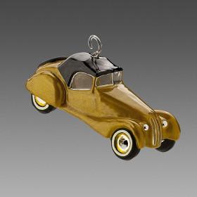 Авто кабриолет золотистый Komozja