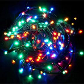 Электрогирлянда разноцветная LED