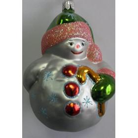 Снеговик маленький серебряный (Интерьер-Промысел)