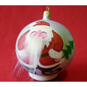 Шар 100мм Дед Мороз (Бирюсинка)