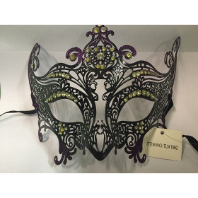 Маска карнавальная, фиолетовая