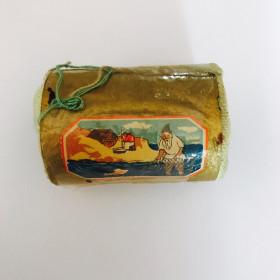"""Сюрпризница """"Сказка о рыбаке и рыбке"""" ( картон, ткань)"""