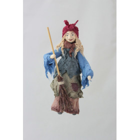 Баба Яга (Ватная игрушка г.Коломна)