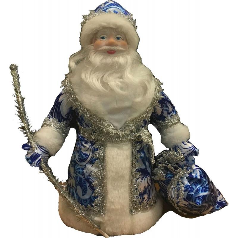 "Дед Мороз под елку 40см ""Гжель"""