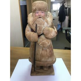 Дед мороз, вата 34см , очень хороший сохран